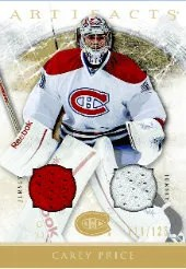2012-13 UD Artifacts Carey Price Jersey Card