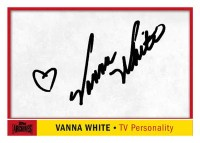 2012 Topps Archives Vanna White Autograph