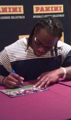 Trent Richardson At Las Vegas Industry Summit