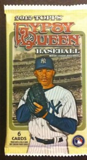 2012 Topps Gypsy Queen Retail Hot Pack