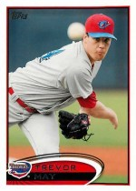 2012 Topps Pro Debut Trevor May