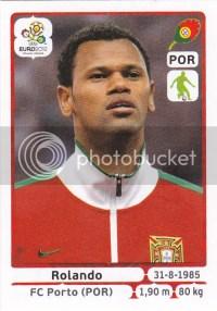 2012 Panini Futbol Soccer Stickers Rolando