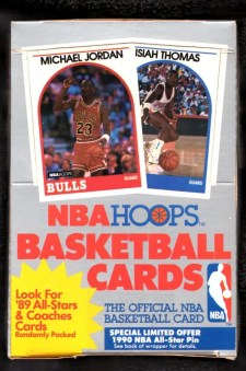 1989-90 NBA Hoops Basketball Box