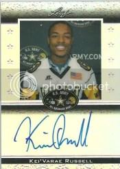 2012 Leaf Metal Draft U.S. Army Autograph