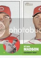 2012 Topps Heritage Ryan Madson Error Sp Card