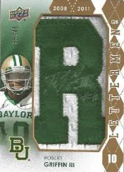 2012 Upper Deck Robert Griffin III Autograph Letterman