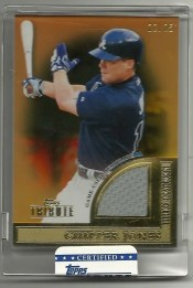 2012 Topps Tribute to the Stars Chipper Jones
