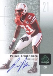 2011 Upper Deck Sp Authentic Prince Amukamara Auto