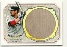 2012 Topps Museum Collection Adrian Gonzalez 1/1