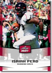 2012 Leaf Draft Isaiah Perd Base Card