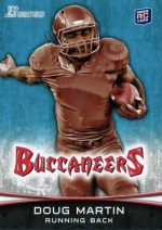 2012 Bowman Doug Martin RC