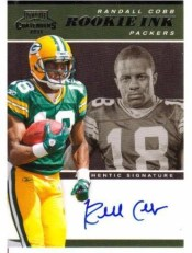 2011 Panini Contenders Randall Cobb Rookie Ink Auto
