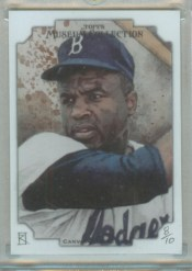 2012 Topps Museum Collection Jackie Robinson Canvas /10