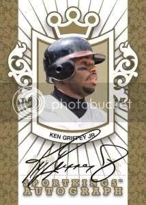 2012 Sportkings Series E Ken Griffey Jr. Autograph Card