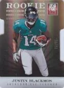 2012 Justin Blackmon Donruss Elite Status