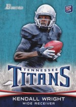 2012 Bowman Kendall Wright Variation Sp Card
