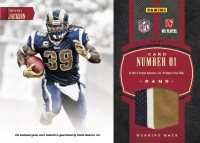 2012 Donruss Elite Steven Jackson Throwback Threads