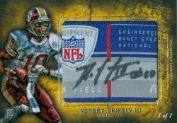 2012 Topps Inception Robert Griffin III Tag