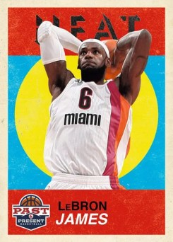 2011-12 Panini Past & Present Base Set Variation #13 LeBron James