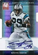 2012 Donruss Elite Steve Smith Auto