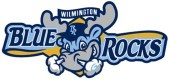 Wilmington Blue Rocks Team Logo