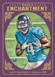 2012 Topps Rookie Enchantment Justim Blackmon
