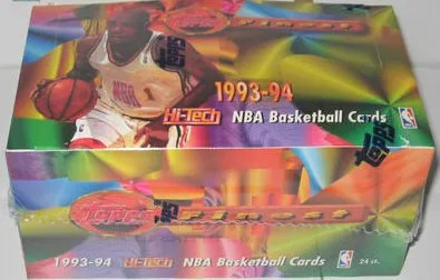 1993-94 Topps Finest Basketball Jumbo Hobby Box