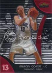 2007-08 Topps Finest Marcin Gortat RC Card