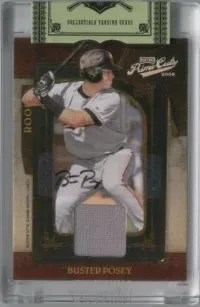2008 Playoff Prime Cuts Autograph Jersey RC Card Buster Posey