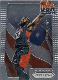 2012-13 Panini Prizm USA Basketball #9 James Harden