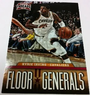 2012-13 Panini Threads Kyrie Irving Floor Generals insert Card