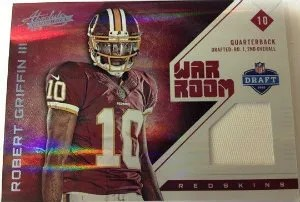 2012 Panini Absolute Memorabilia War Room Robert Griffin III