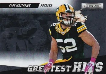 2012 Panini Longevity Clay Matthews Greatest Hits Insert Card