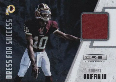 2012 Panini Longevity Football Robert Griffin III Dress For Success Jersey Card