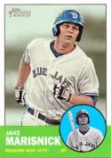 2012 Topps Heritage Minor Leagues Jake Marisnick Variation