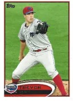 2012 Topps Pro Debut SP Photo Variation #129 Trevor May