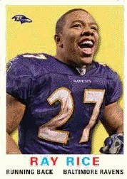 2013 Topps Archives Ray Rice Base Card