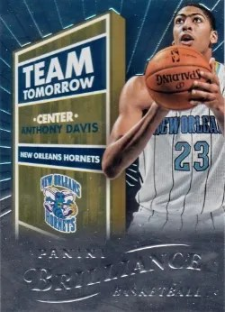 12/13 Panini Brilliance Team Tomorrow Anthony Davis
