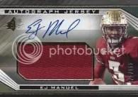 2013 SPX Ej Manuel Autograph Jersey