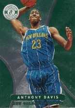2012-13 Panini Totally Certified Anthony Davis Green #/5