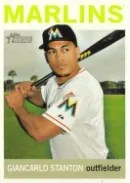 2013 Topps Heritage Mike Stanton Sp