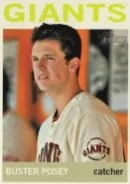 2013 Heritage Buster Posey Color Sp