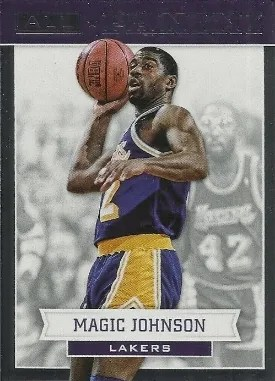 2012/13 Panini All-Panini Magic Johnson Insert Card