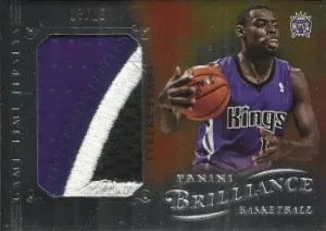 12/13 Panini Brilliance Game Time Jersey Tyreke Evans Patch