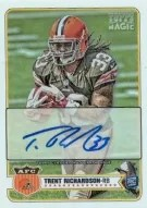 2012 Topps Magic Trent Richardson Mini