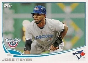 2013 Topps Opening Day #131 Jose Reyes Base