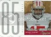 2013 Prestige Michael Crabtree Inside Numbers
