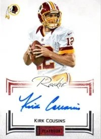 2012 Panini Playbook Kirk Cousins RC