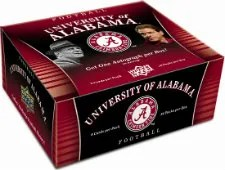 2012 Upper Deck Alabama Football