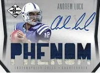 2012 Panini Limited Andrew Luck Phenom